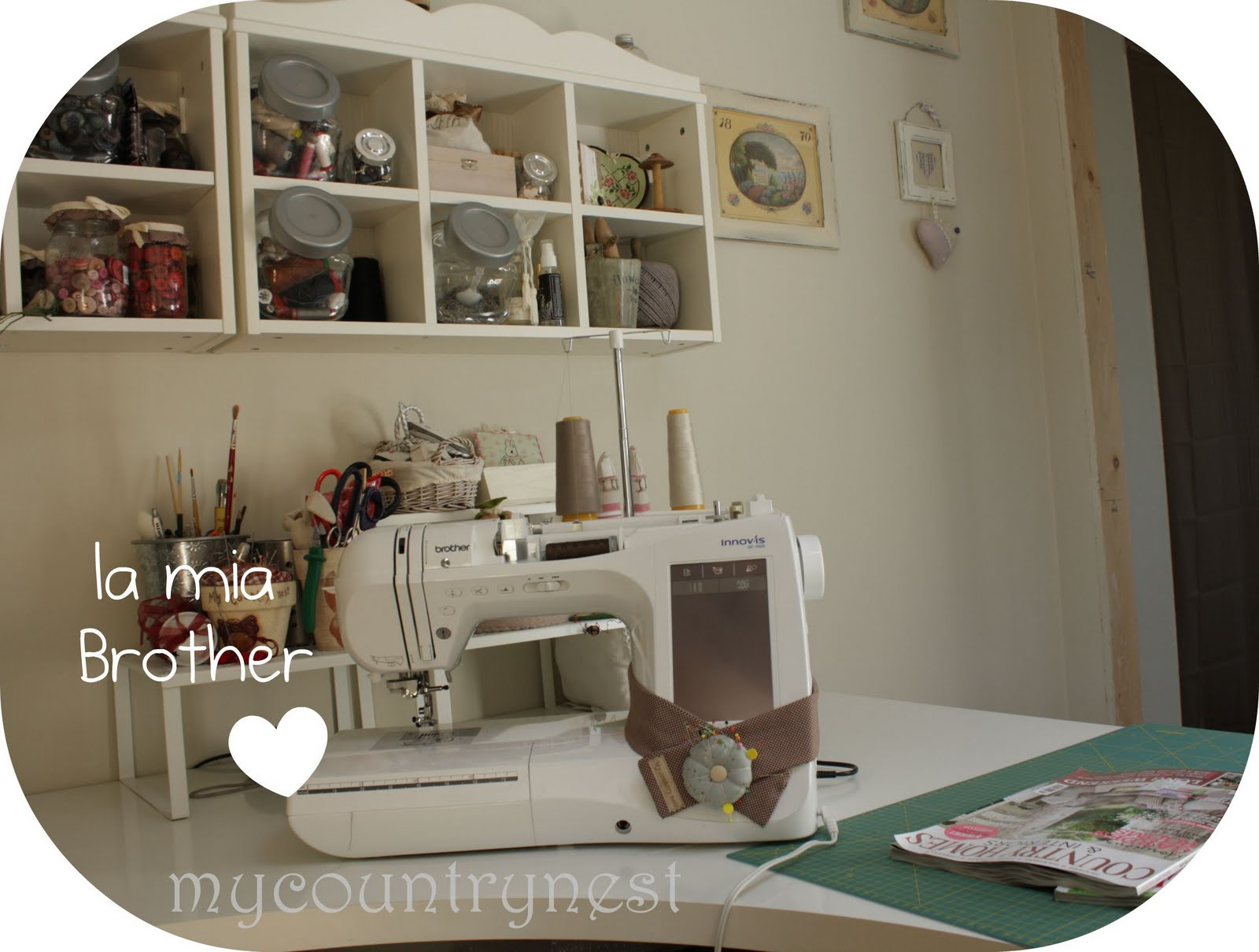 My Country Nest La Mia Nuova Craft Room Seconda Parte
