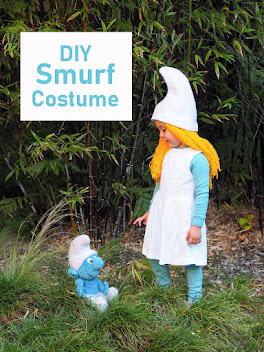 Easy DIY Smurf Costumes