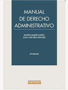 Manuales de Derecho: Manual de Derecho Administrativo.