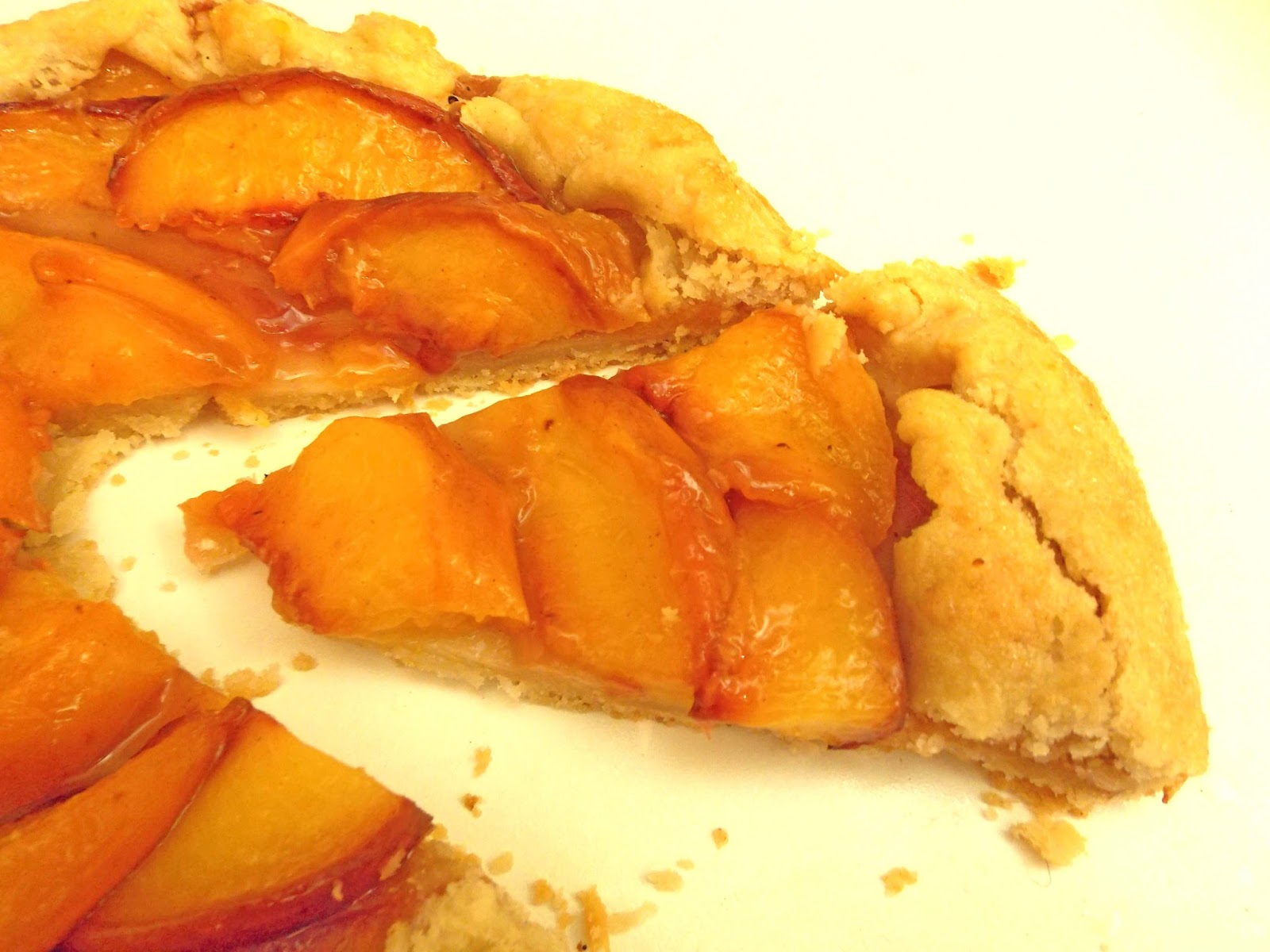 peach galette flickr photo sharing peach frangipane galette recipe on ...
