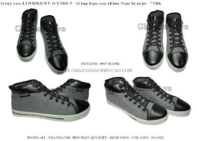 Giày nam đẹp GT200. 5