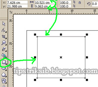 cara mengedit gambar kotak menggunakan ukuran tool properti bar ...