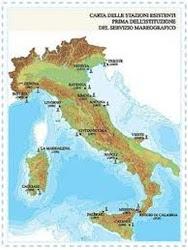 LE MAREE DEI PRINCIPALI PORTI ITALIANI