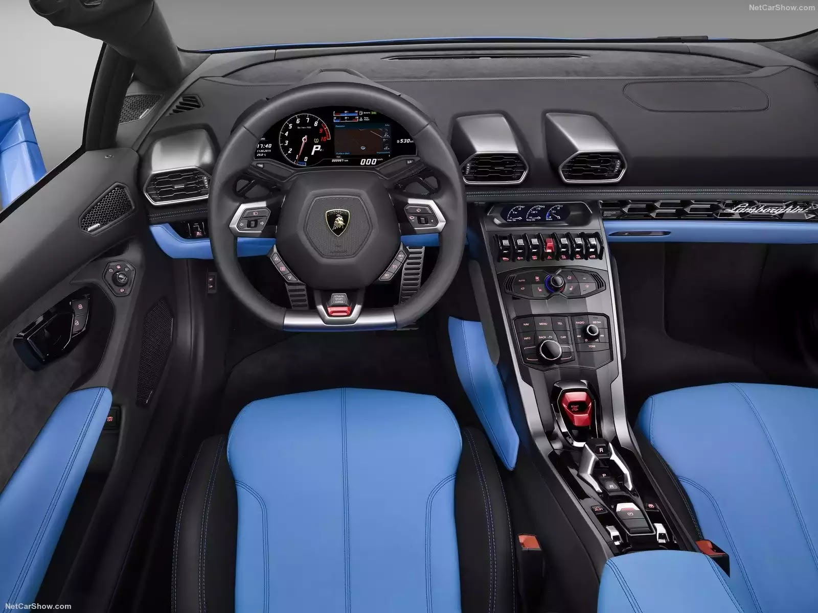 Hình ảnh siêu xe Lamborghini Huracan LP610-4 Spyder 2017 & nội ngoại thất