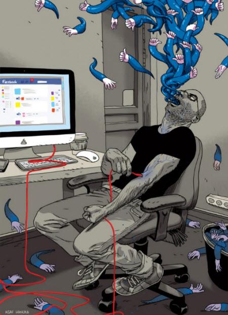 Adicto al facebook