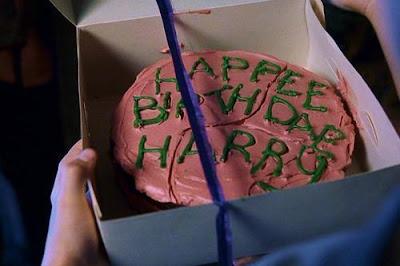 Tarta de cumpleaños Harry Potter