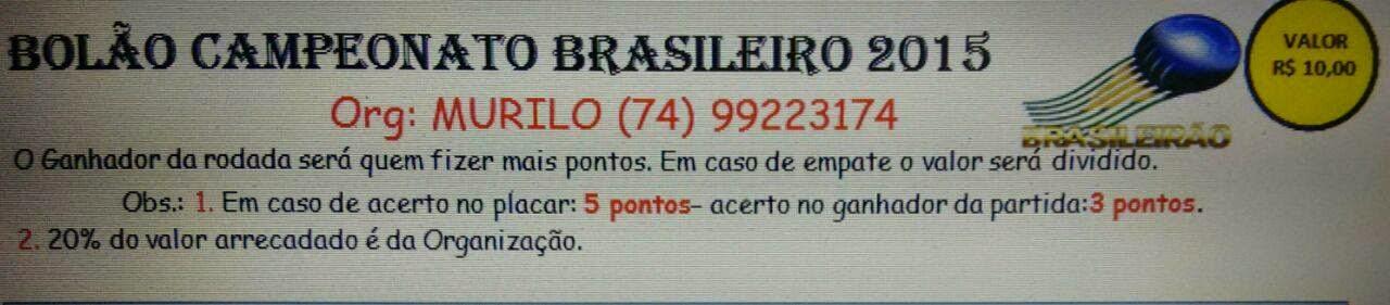 Bolão do Murilo Souza