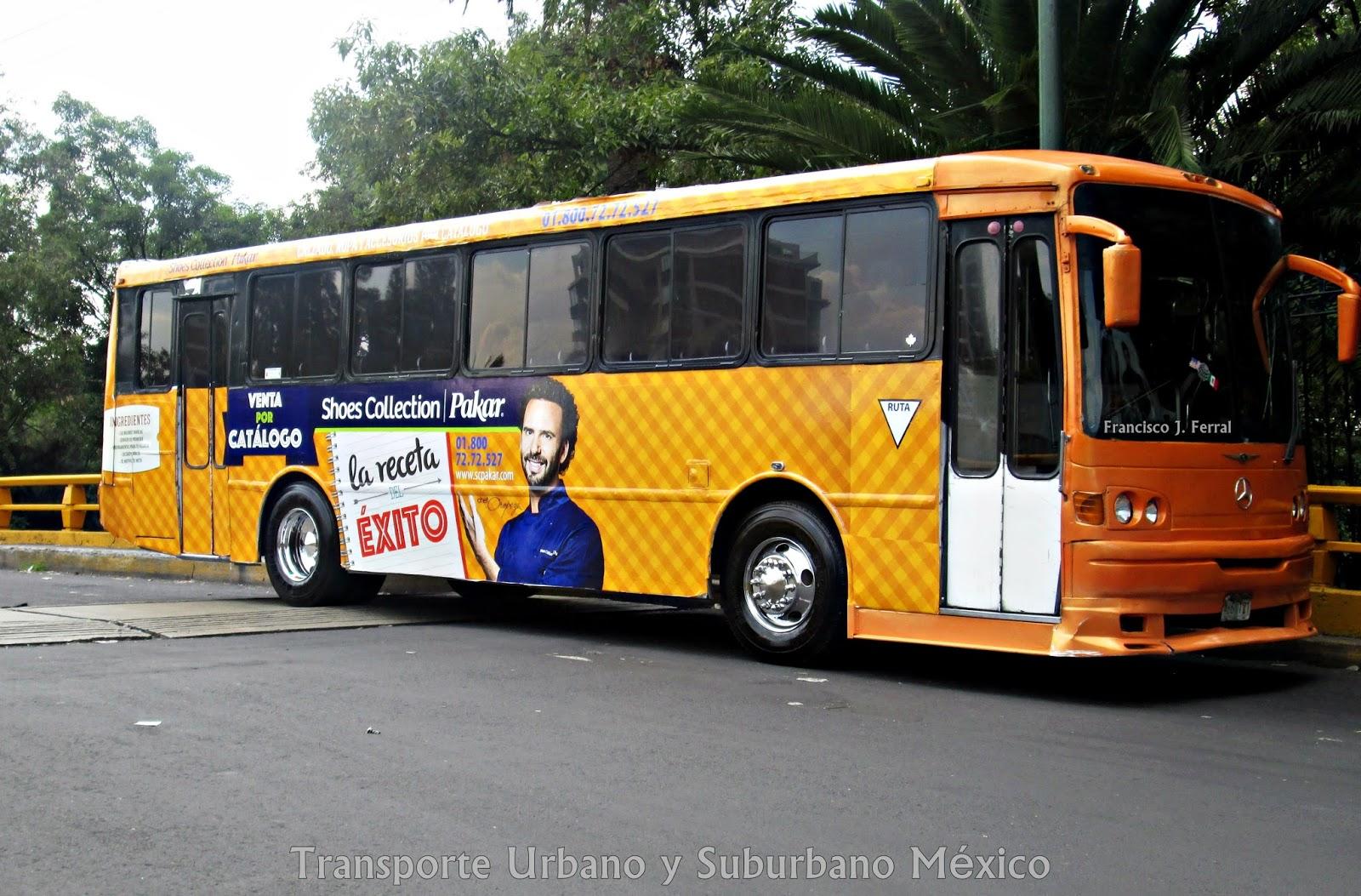 Transporte urbano y suburbano de m xico jaguares el for Mercedes benz san pedro
