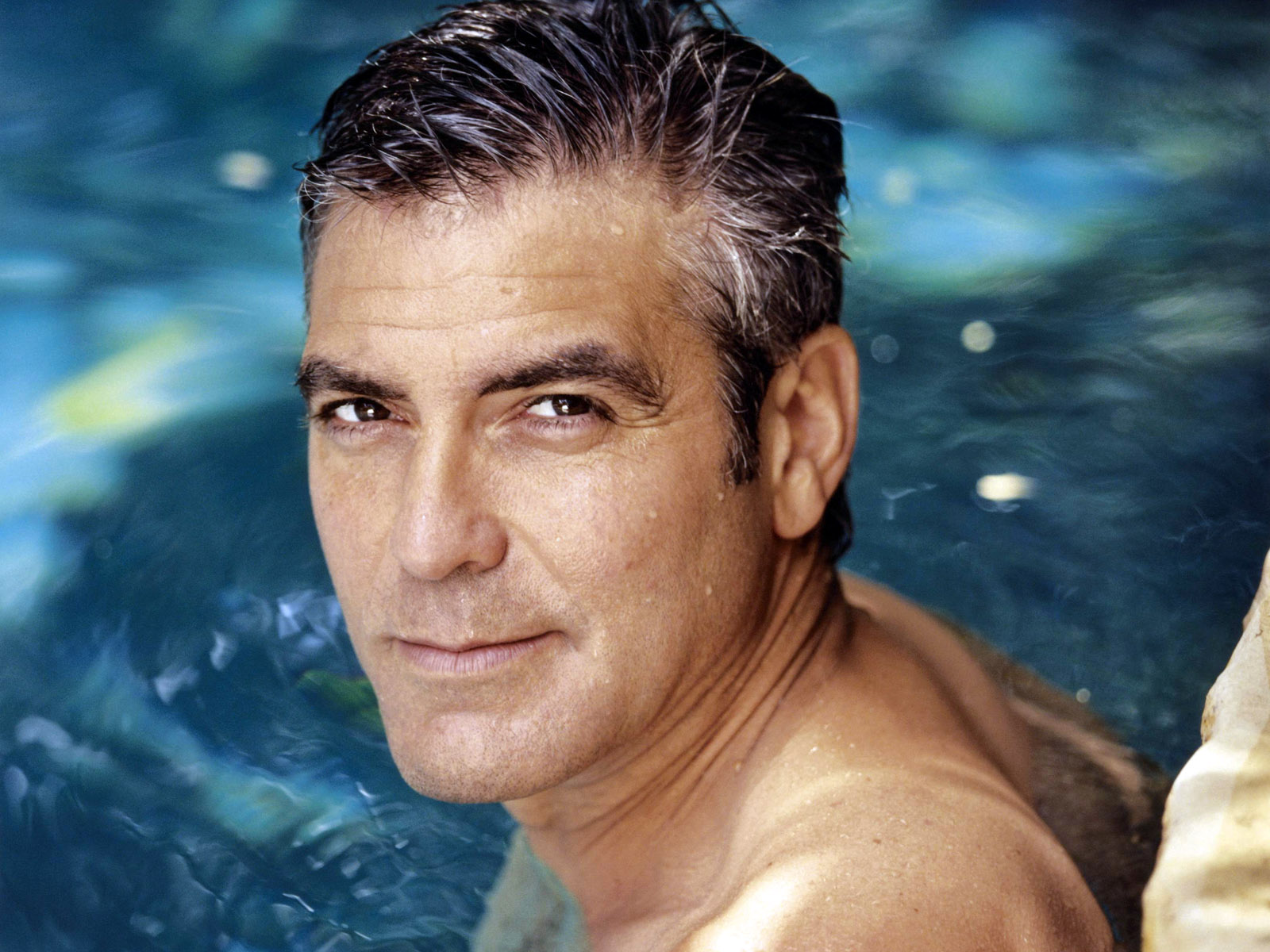 George Clooney the Evolution George-clooney