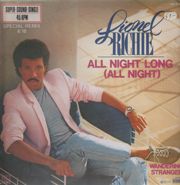 Lionel Richie - All Night Long (All Night) - copertina traduzione testo video download