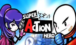 Screenshots of the Super Action Hero for Android tablet, phone.