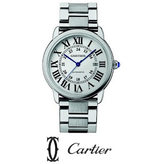 Cartier Stainless Steel Large Bracelet Watch