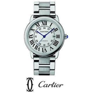Cartier Stainless Steel Large Bracelet Watch