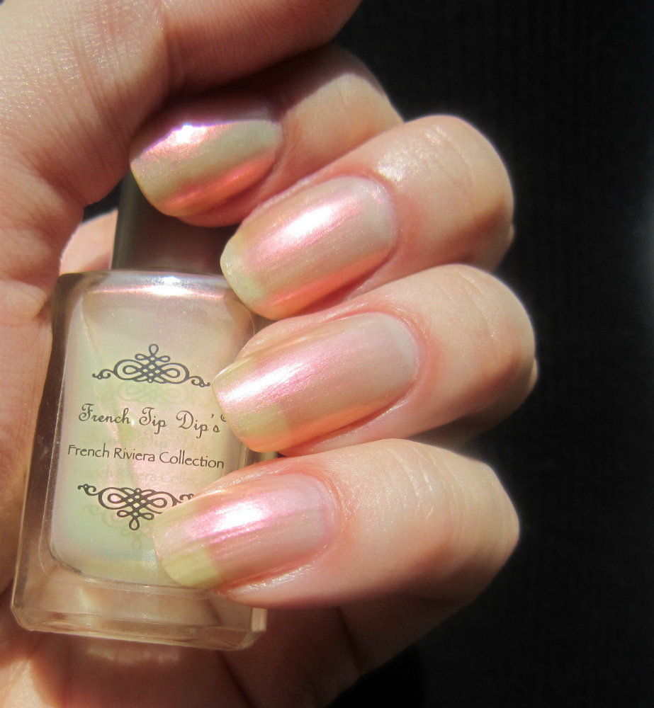 Concrete and Nail Polish: French Tip Dip Cannes