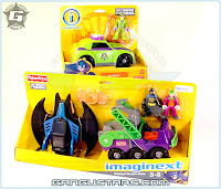 Fisher-Price Imaginext DC Super Friends Joker Hauler Riddler Batman アメコミ バットマン トランスフォーマー