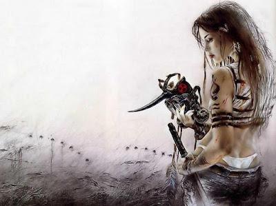 Dibujos De Mujeres Guerreras Y Sensuales