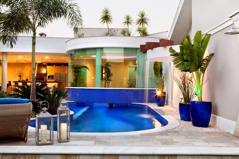 Construindo minha casa clean decora o moderna com for Vaso piscina