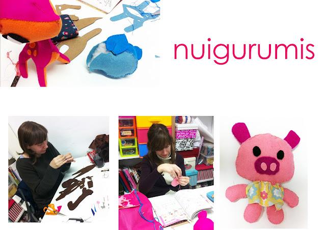 Taller de niugurumi muñecos de fieltro