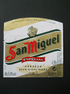 spanish beer San Miguel
