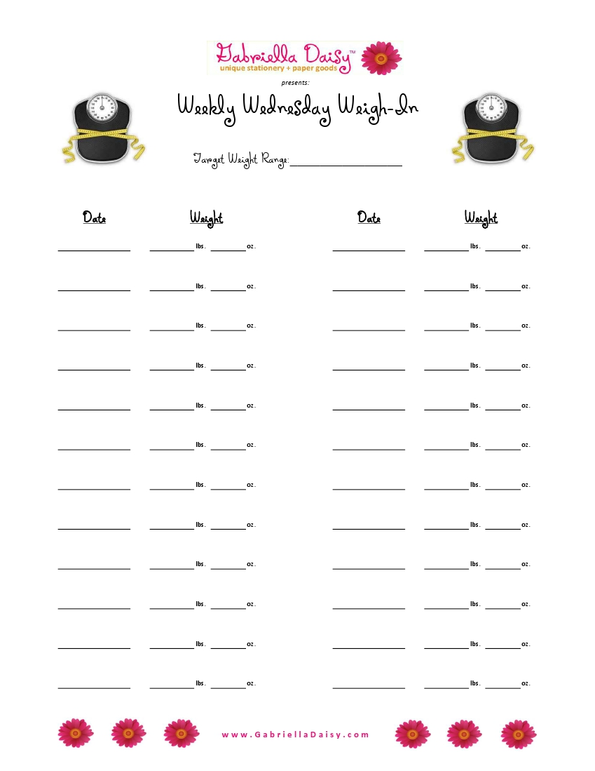 Free Worksheets light worksheet : Confessions of a Paper-Crafts Chick: Wednesday Weigh-In ...