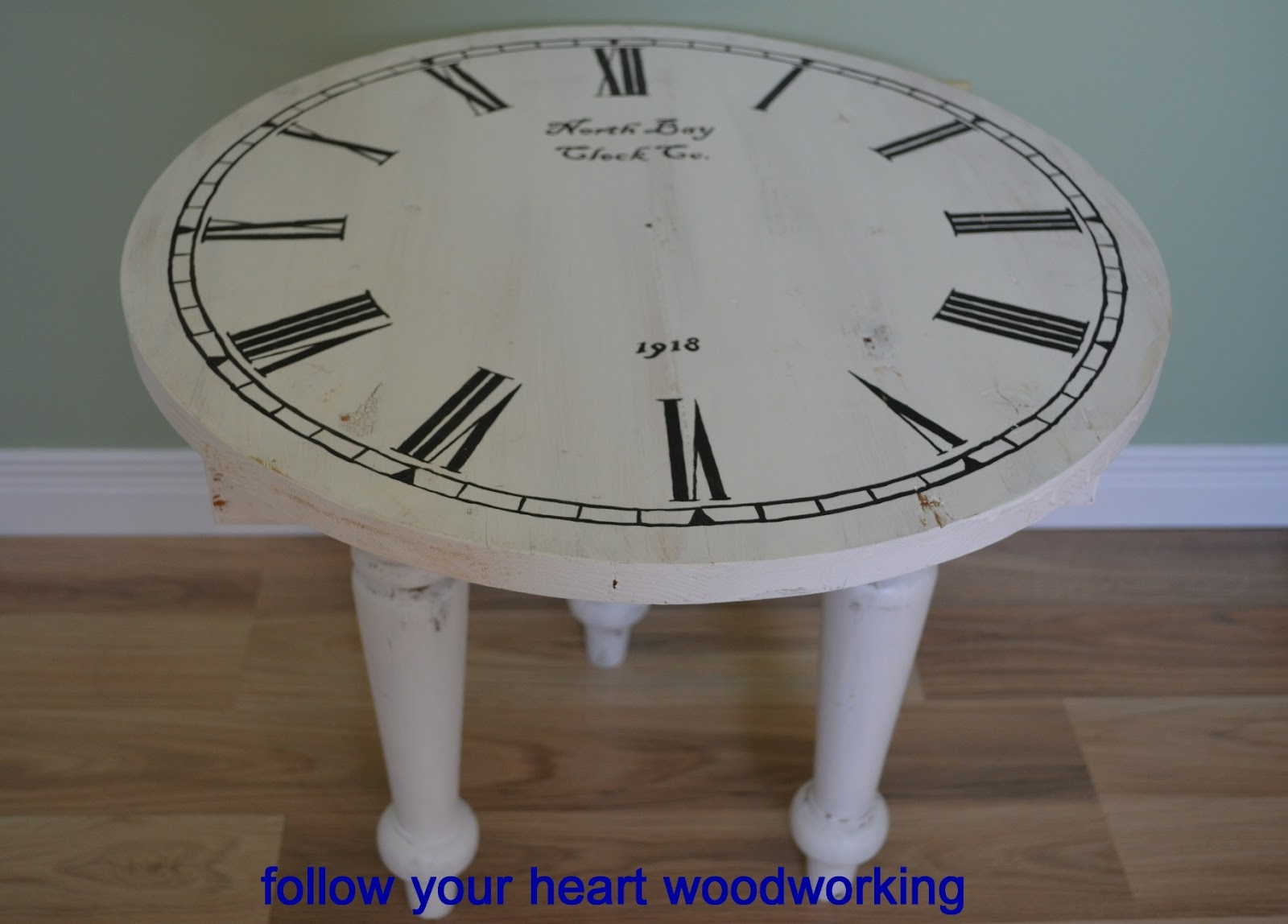 Follow Your Heart Woodworking Making A Side Table My Own