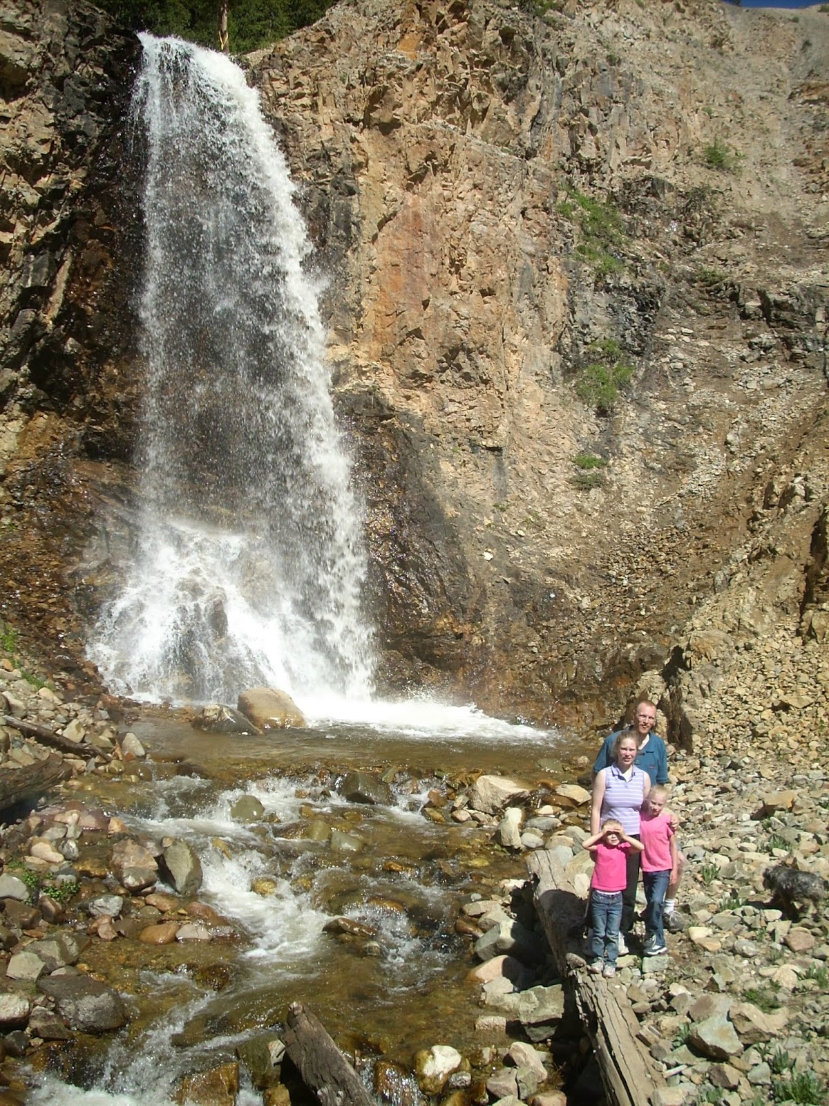 Explore Colorado Chalk Falls Leadville Colorado