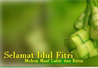 Kata Kata Ucapan Idul Fitri