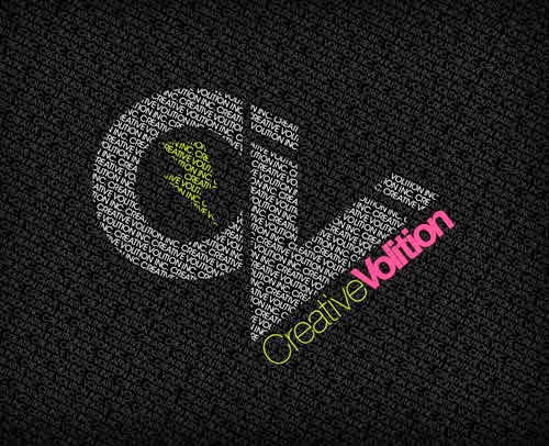 creative volition text effect tutorial