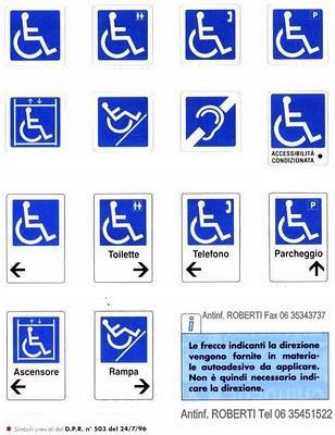 Antinfortunistica roberti blog febbraio 2013 - Sedie per portatori di handicap ...