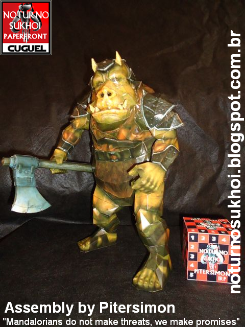 Star Wars Gamorrean Guard Papercraft