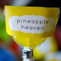 Pineapple Heaven Lollipops