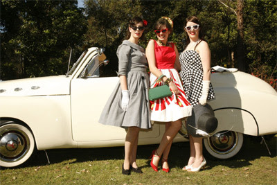 Fifties Fair girls