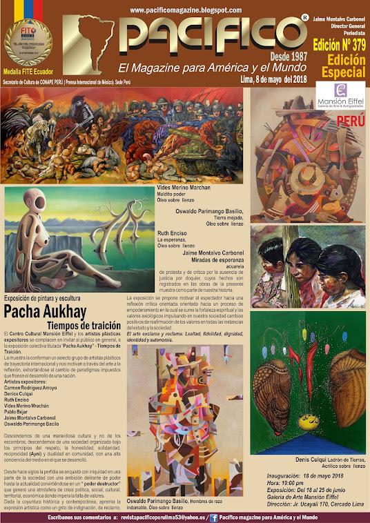 Revista Pacifico Nº 379 Edición Especial - Galería  Eiffel