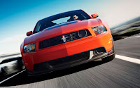 2012 Ford Mustang Boss 302 front