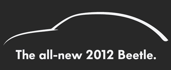 New Volkswagen Beetle 2012. The new VW Beetle is a Beetle