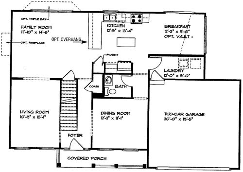 The Quaint Cottage: Laundry Room Design Plan