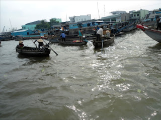 Floating markets in Can Tho - Vietnam