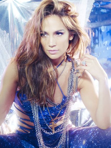 Beauty Jennifer Lopez Hairstyle on What is Love Photoshoot 09