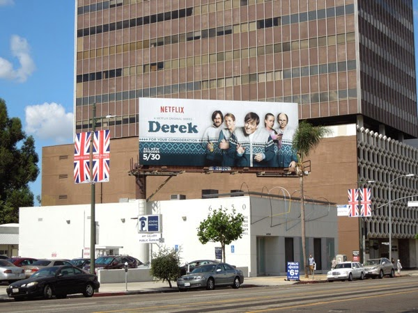 Derek season 2 Emmy 2014 billboard