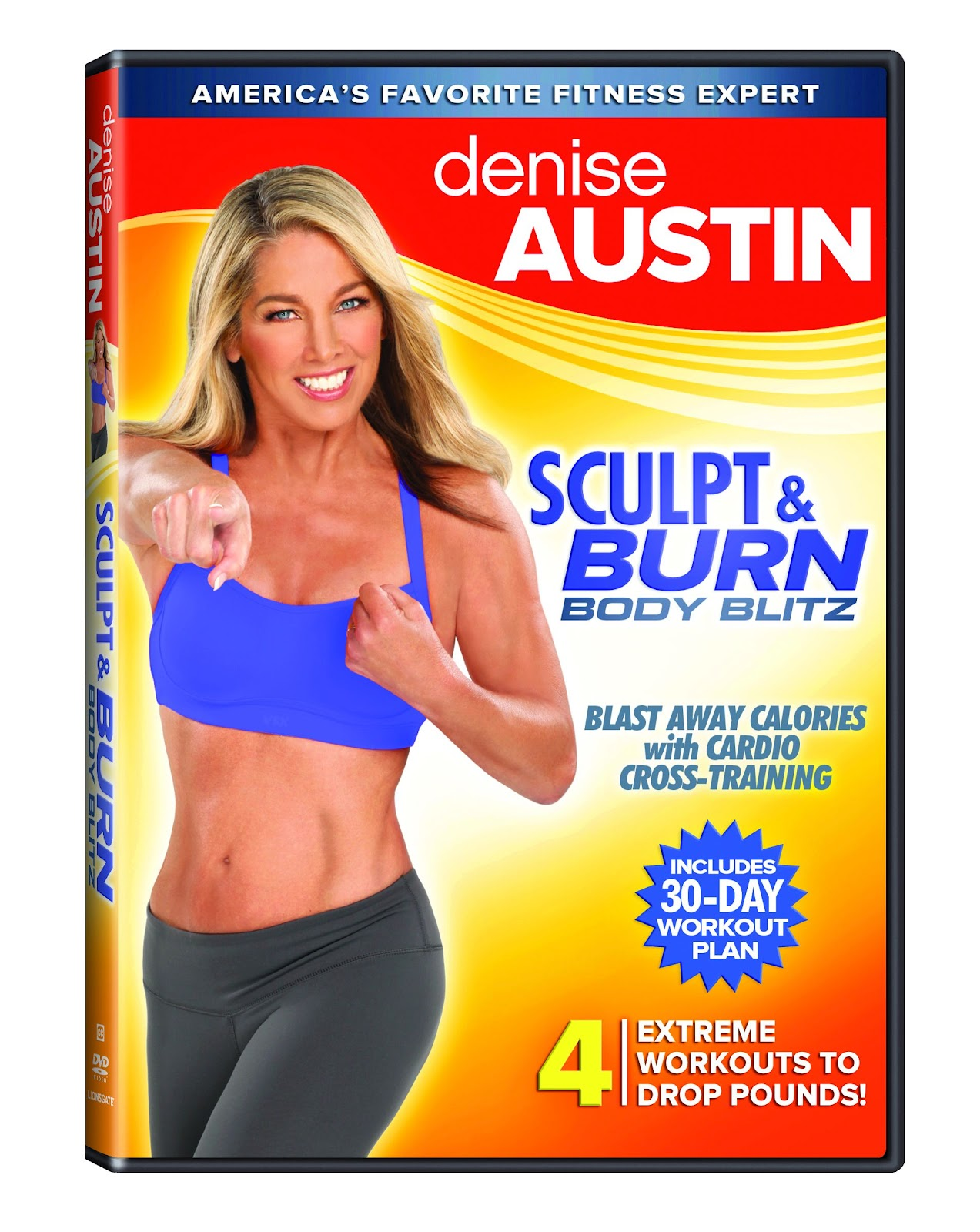 Denise Austin's Newest Workout DVDs - Thrifty Nifty Mommy