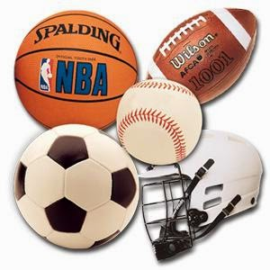 Basketball, Cricket Ball, Volleyball, Hockey, Netball
