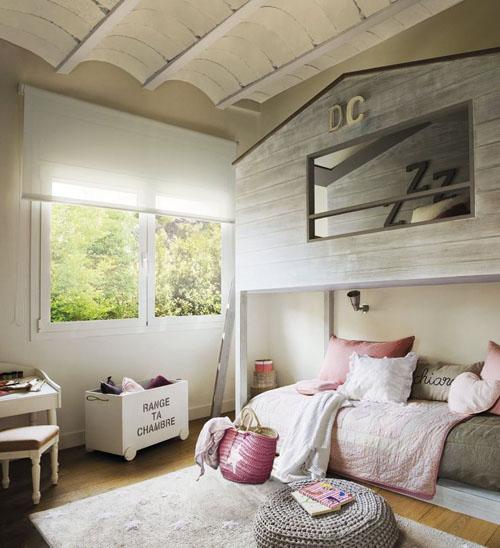 Mommo design bunks for girls - Camas doble para ninos ...