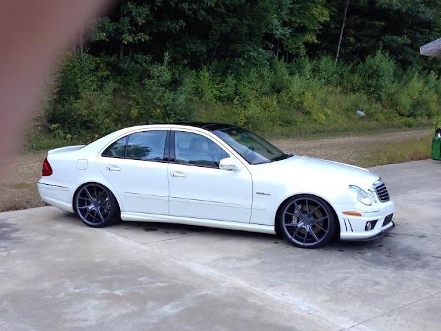 e63 amg white