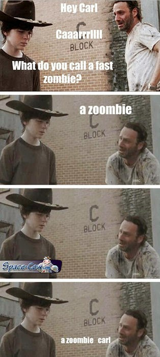 funny Walking Dead pictures