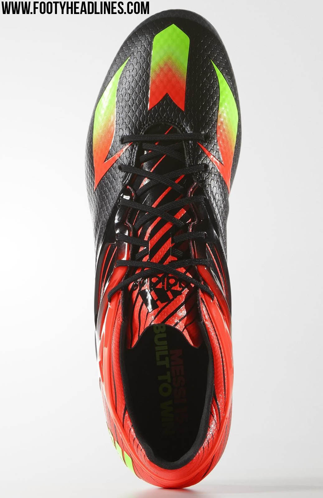 striking adidas messi 2015 2016 boots leaked footy headlines