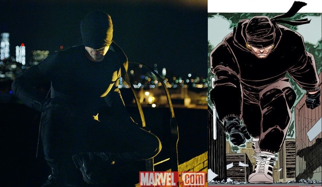 Marvel's Daredevil First Look - Charlie Cox as Daredevil