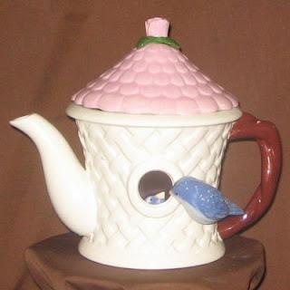 Order a Unique Peek-A-Bird Birdhouse Teapot