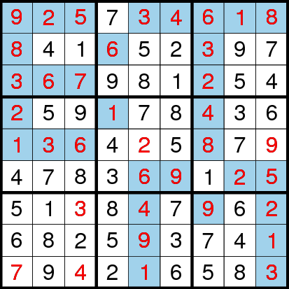 Classic Sudoku (Fun With Sudoku #20) Solution