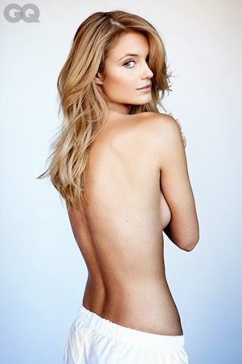 Kate Bock goes topless for GQ magazine photoshoot