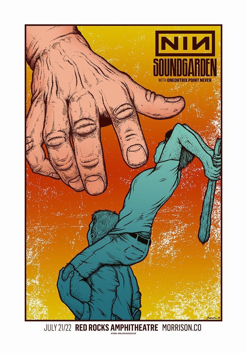 INSIDE THE ROCK POSTER FRAME BLOG: Nine Inch Nails & Soundgarden ...